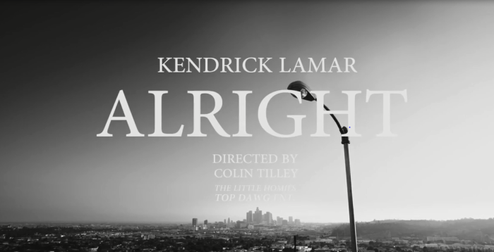 Kendrick Lamar – Alright: 10 Symbols Of Positivity & Hope