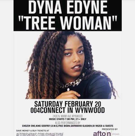 Dyna Edyne Tree WOman Live