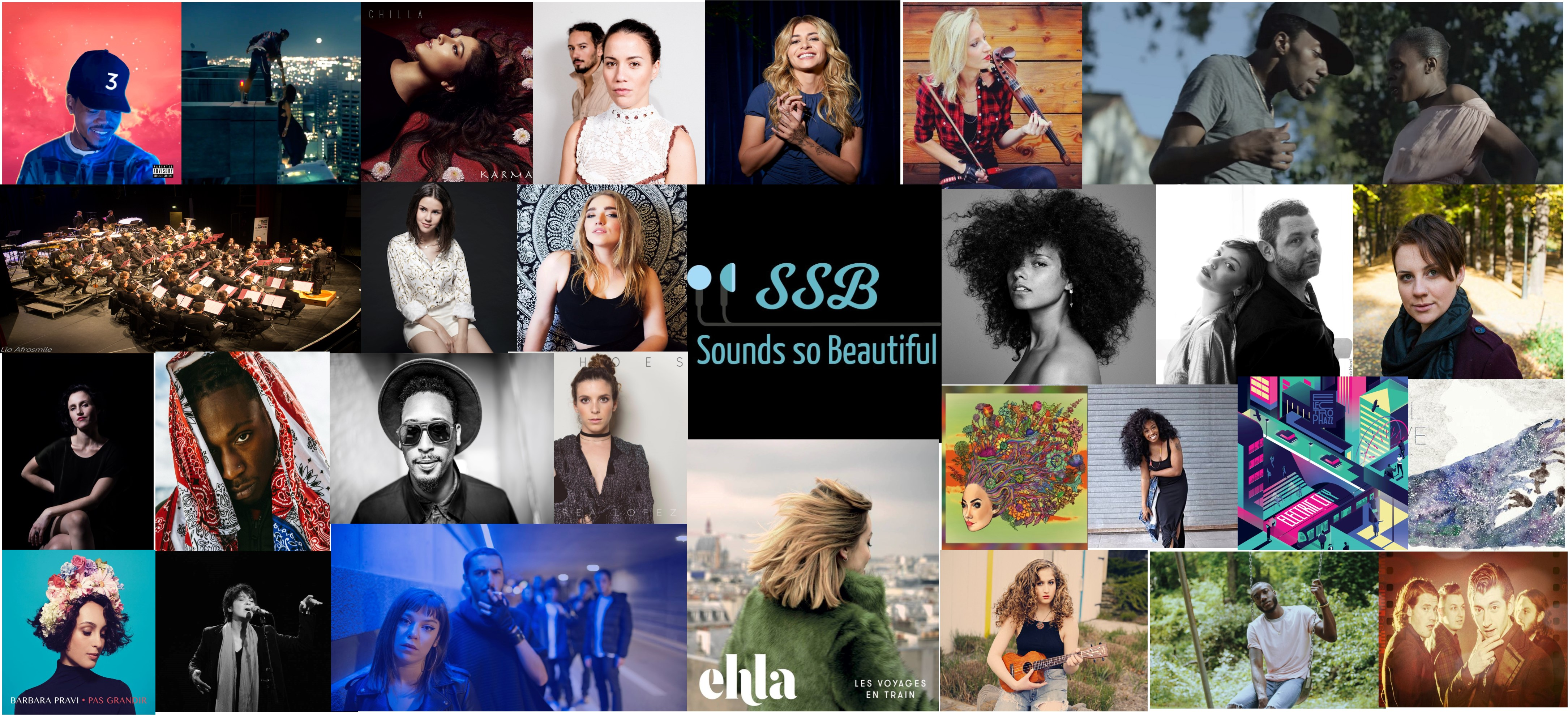 Top 30 – The Most Popular Artists In 2017 – Sounds So Beautiful