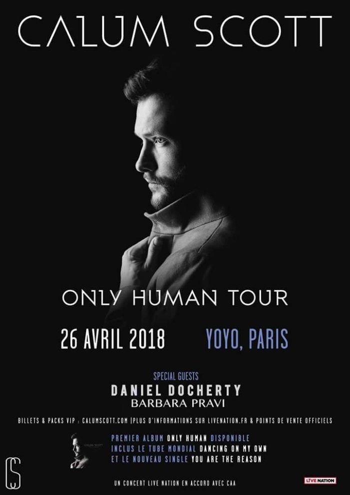 Calum Scott – En Concert A Paris Avec Barbara Pravi(Interview)