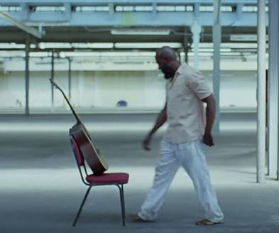red chair for an innocent black man