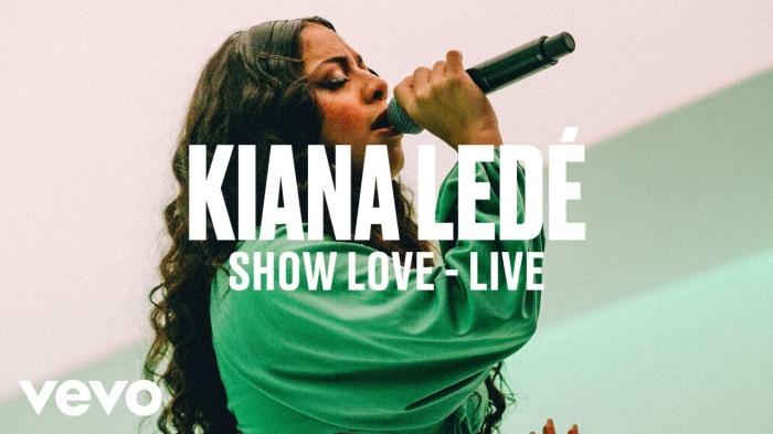 Kiana Ledé – This Is How You Handle A LivePerformance