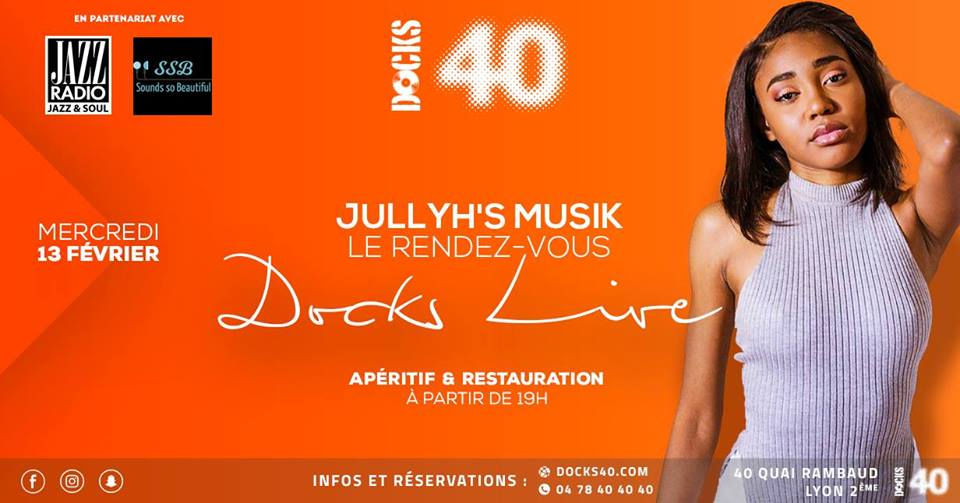 RDV Live Docks 40 Jullyh's Musik SOunds SO Beautiful